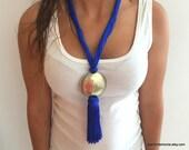 Moroccan Sabra Silk Necklace