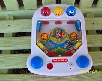 1992 Fisher Price Pop 'n Pinball,  No. 2400