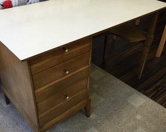 On SALE-Heywood-Wakefield mid century modern desk