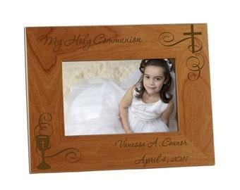 Engraved My Holy Communion Photo Frame