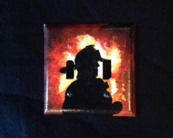 Fireman Light Switch Plate