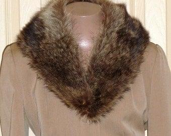 1950s collar #4. Coyote Fur!