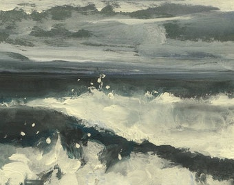 Pacific Storm- Original Acrylic Painting