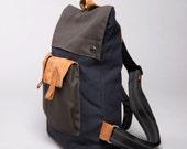 Backpack, Canvas backpack , Rucksack, Women Backpack