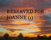 Reserved listing for JoAnne (1)
