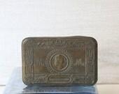 Antique Soldier's Christmas Gift Tin 1914 Imperium Britannicum British military