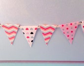 1:12 scale - Miniature Bunting...dolls house....miniature...handmade
