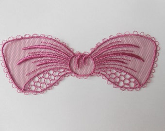 Great knot rose lace 13 x 4.5 cm