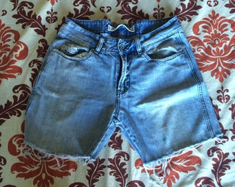 Vintage Distressed Cutoff Diesel Brand Denim Shorts