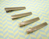 20pcs Alligator Clip 55mm Antique Bronze  With Teeth Create Your Own Hair Accessories