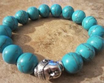Buddha Bracelet. Boho Bacelet. Buddha Beads. Yoga Bracelet. Mala Bracelet. Buddhist Bracelet. Beaded Bracelet Yoga Jewelry