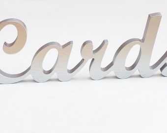 Cards sign - wedding sign - wedding decor - cards and gifts sign - sign for wedding cards - wood cards - wedding card sign - gifts and cards