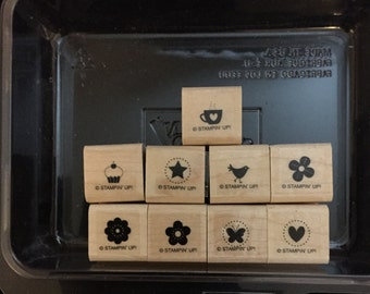 Retired Stampin'Up stamp set Itty Bitty Bits