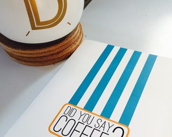 Coffee Greeting Cards (pack of 4)