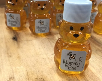 Baby Shower Honey Bear Favors Blue Mommy to Bee