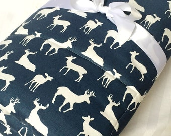 Padded Baby Play Mat, Woodland Deer Mat, Infant Play Mat, Baby Floor Mat, Baby Activity Mat, Baby Shower Gift, Play Blanket, Quilt