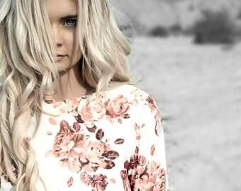 SALE | Bunga Mini Dress in Rose