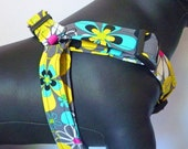 Sale 50% Off Dog Harness - Traditional or Step-In - You Choose a Fabric from Collar Section