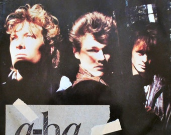 """A-HA The Sun Always Shines On TV 1985 UK 12"""" Maxi Vinyl Single Record Synth Pop 80s electro new wave music aha W8846T Free Shipping"""