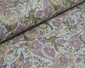 Italian Decorative Paper - Pastel Paisley