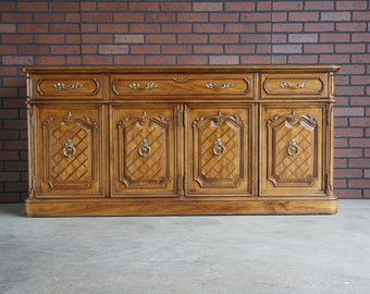 Buffet / Sideboard / Server / Vintage Buffet / French Provincial Sideboard / Country French Buffet ~ Paint To Order