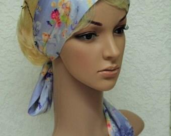 Satin hair scarf, ultra long headband, head scarf, long hair accessories, satin hair wrap, silky hair covering, headscarf, hair band