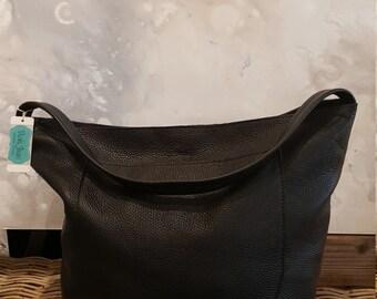 Black Haley Leather Bag SALE