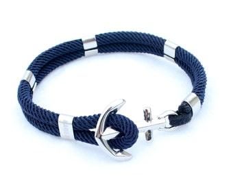 Anchor bracelet - Nautical bracelet - New Haven in Stainless steel