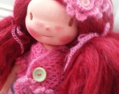 Charlotte a Waldorf doll.