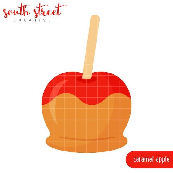 caramel apple clipart images - photo #43