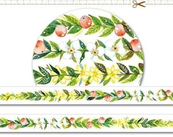 1 Roll of Limited Edition Washi Tape: Flower