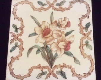 Daffodil Decorative Tile