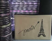 Oui, Paris | Makeup Bag | Cosmetic Bag | Clutch