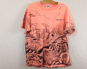 90s underwater life shirt size L