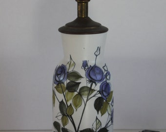 Stunning vintage lamp base by Hilkka-Liisa Ahola for Arabia Finland