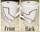 "State ""Miss you!"" Mug (single mug)"
