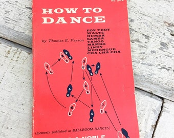 Vintage Instructional Book - How To Dance