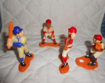 Vintage Bakery Craft Baseball Players-1984