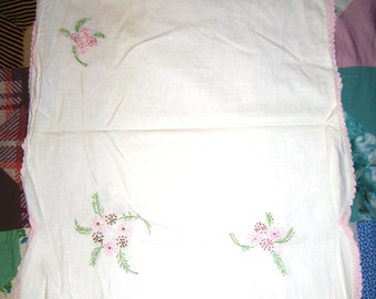 Specialty Runner (Corner Embroidery)
