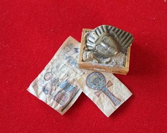 OOAK dollhouse miniature Egyptian artifact
