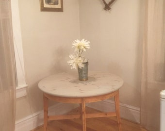 Kitsch Kitchen Dining Table Solid Refinished Knotty Pine