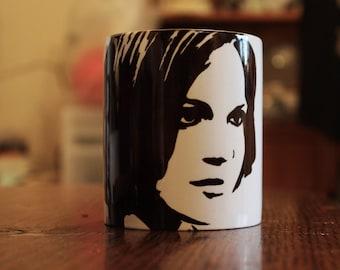 Lana Parrilla - Regina Mills - Evil Queen - Evil Regal - Once Upon A Time - Hand Crafted Mug