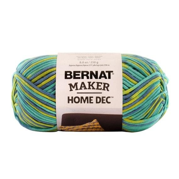 Bernat Maker Home Dec Yarn In Pacific Variegate