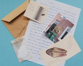 Personal Letter, Handwritten, Englisch text, narrative goodies, whimsical mail, local happiness, snailmail, singing blackbird