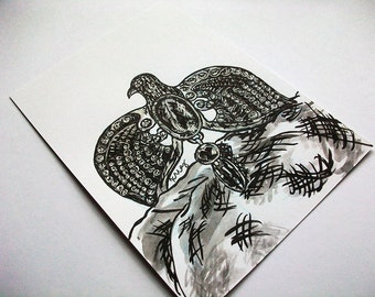 Ravenclaw's Diadem- Wizarding Magical Artifact Inked Art