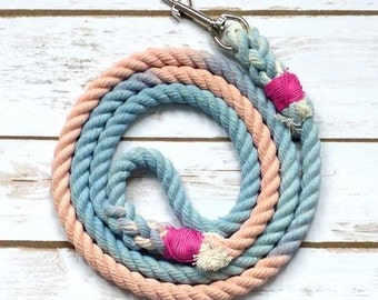 Bubble gum rope lead for dogs. SALE NOW ON!!!!!