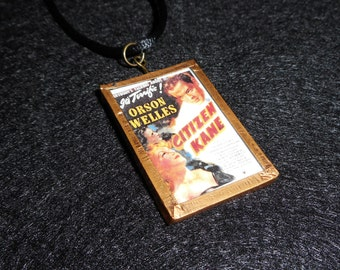 Citizen Kane Movie Poster Necklace