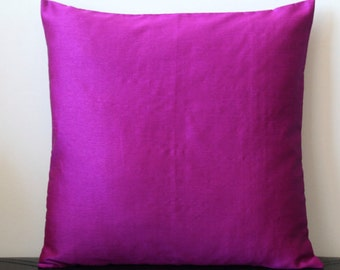 Purple Pink Pillow, Solid Pillow, Purple Pink Throw Pillow, Outdoor PIllow, Purple Pink Cushion, Decorative Pillow, Summer Pillow