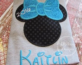 Custom embroidered Disney Inspired Vacation Shirts for the Family 834