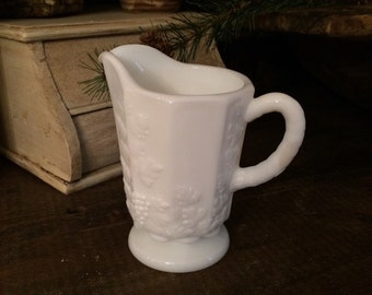 Westmoreland milk glass pitcher
